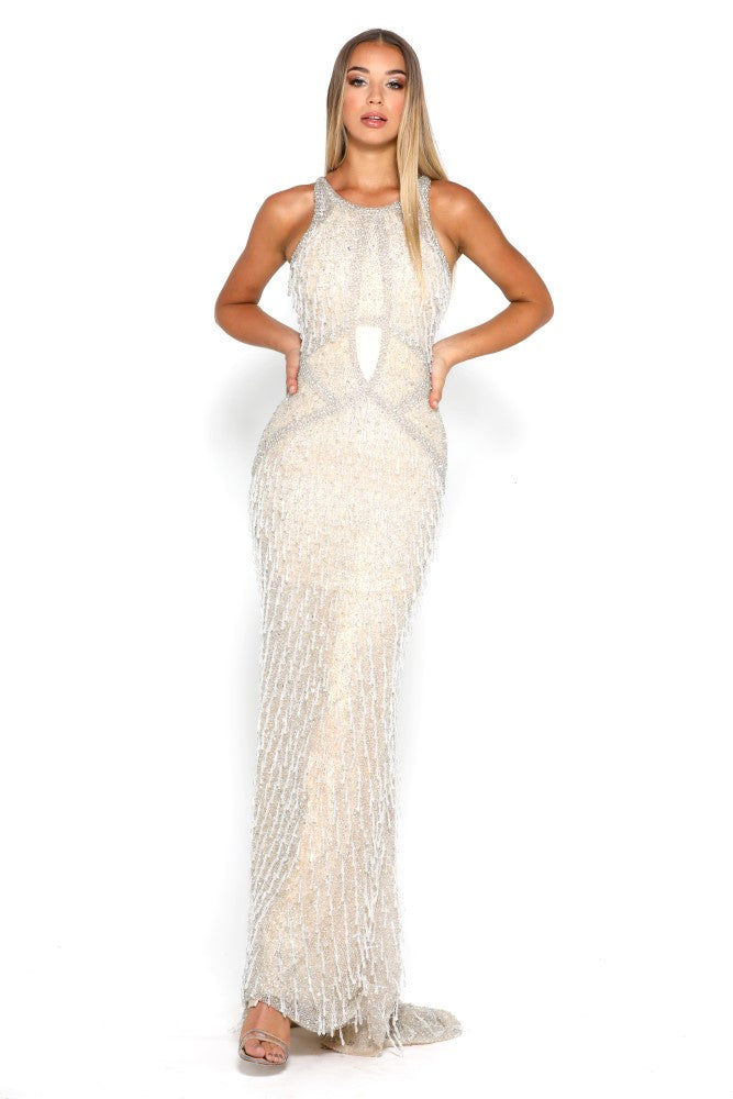 Portia and Scarlett Noelle luxury Beaded Evening Gown