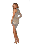 portia and scarlett uk asymmetric kylie jenner style evening dress at shaide boutique uk free next day uk delivery side