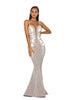 Portia & Scarlett PS5013 - ZERMATT elegant long black tie evening dress SHAIDE boutique uk