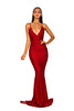 Portia & Scarlett PS5029 - CLIOS RED black tie prom dress at shaide boutique uk frton