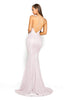 portia and scarlett dana diamond pink ps1936 long backless evening gown from shaide boutique uk back view