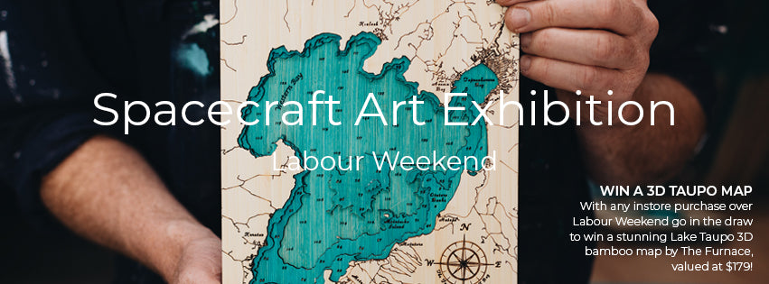 Spacecraft Labour Weekend Art Exhibition
