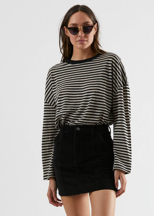 Noa - Hemp Oversized Long Sleeve Tee