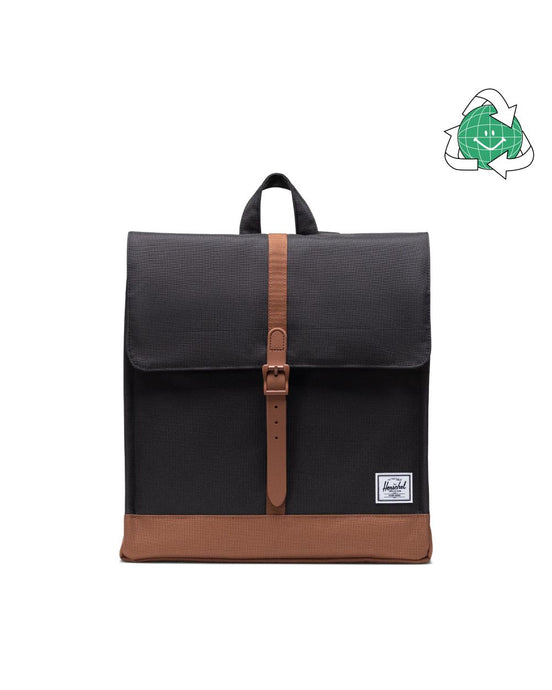 City Mid Volume Backpack - Eco Collection Black