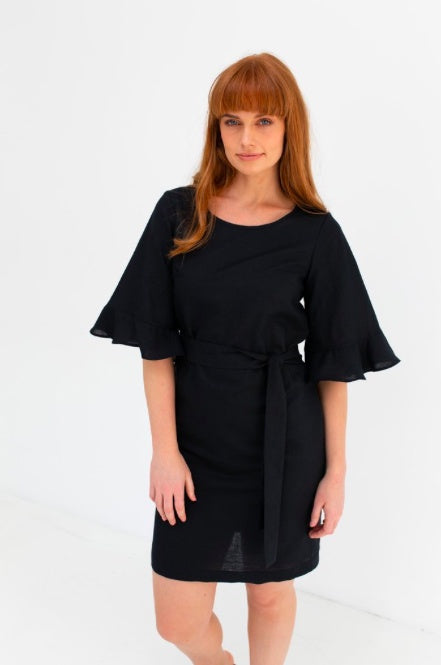 Staple & Cloth Cosmo Dress - Black