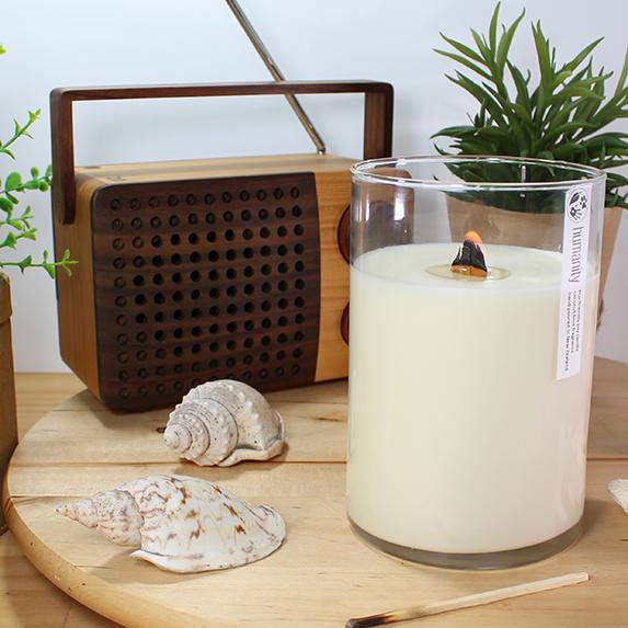 Soy Candle - Lemongrass & Ginger
