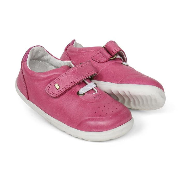 Bobux Step Up Ryder Trainer - Pink + Raspberry