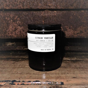 Citron Vanille Soy Candles