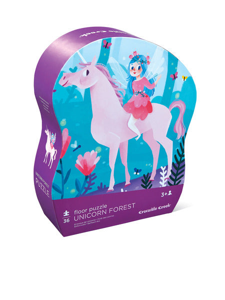 Unicorn Forest Floor Puzzle
