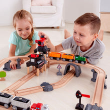Load image into Gallery viewer, Hape Mining Loader Train Set