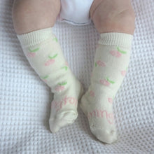 Load image into Gallery viewer, Lamington Baby Socks - New Born
