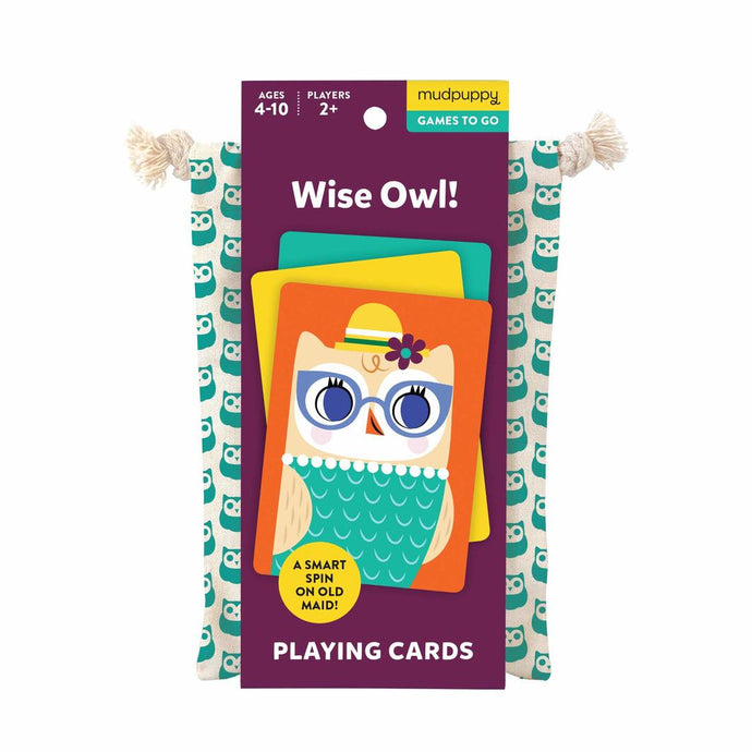 Wise Owl Playing Cards