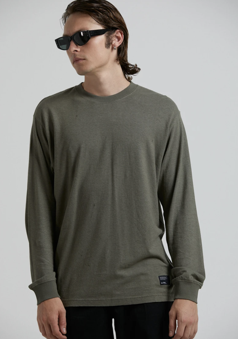 Hemp Essential Retro Fit Long Sleeve Tee