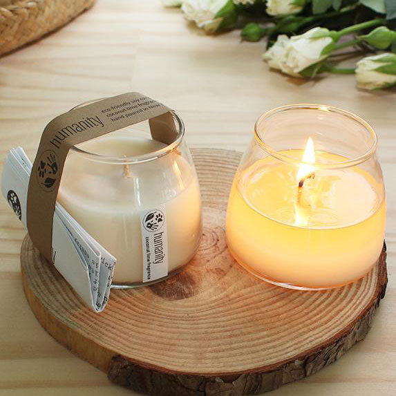 Soy Candle - Coconut & Lime