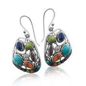 Alba multi stone earrings