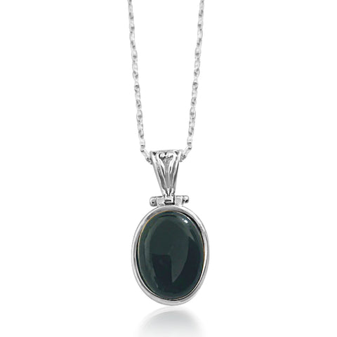Omar onyx necklace