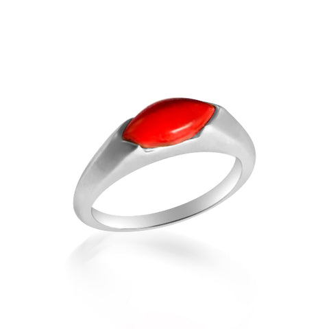 Amy coral ring