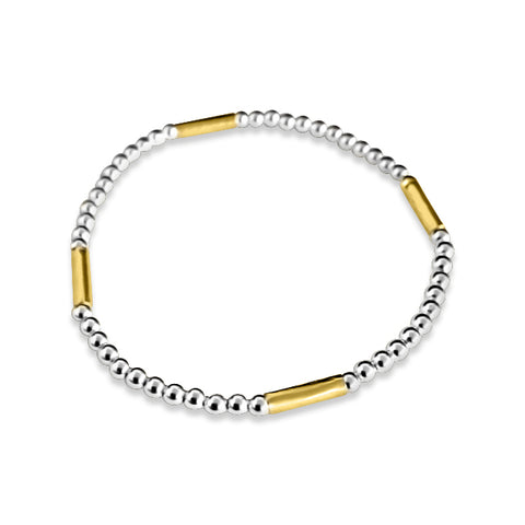 Stackable gold filled bracelet