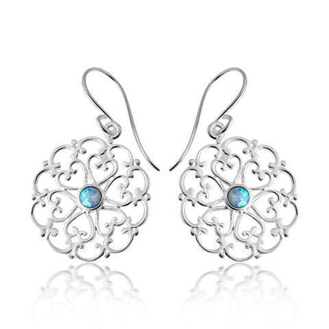 Figtree opalite blue earring