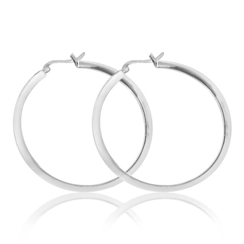 Jane hoop earrings.