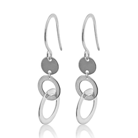 Earring with three circles
