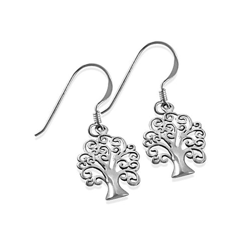 Petite tree of life earrings