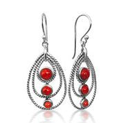 Stunning Coral Earrings