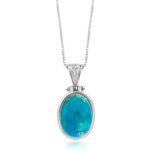 Tia turquoise necklace