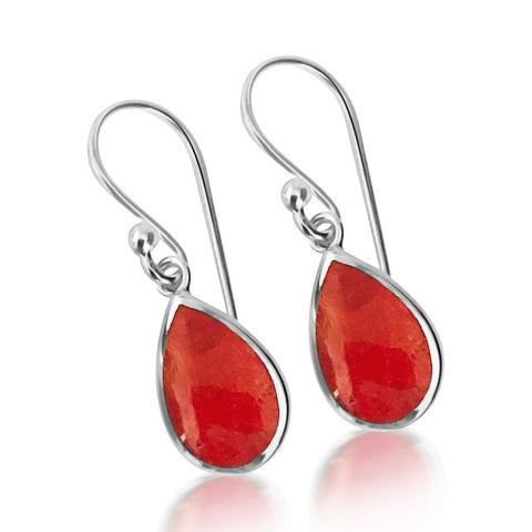 Ruby Coral earring