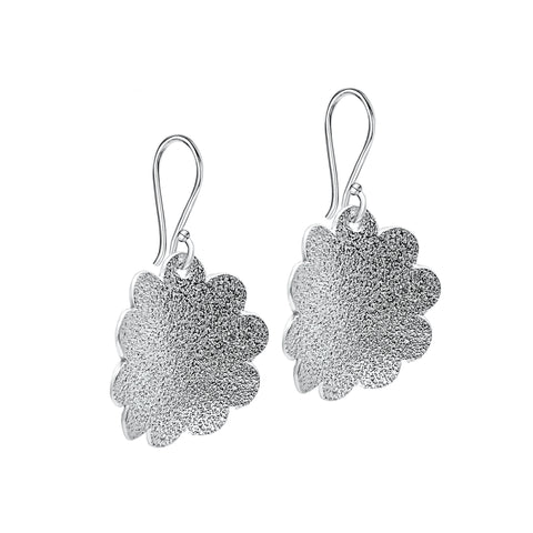 Sterling silver autumn earrings