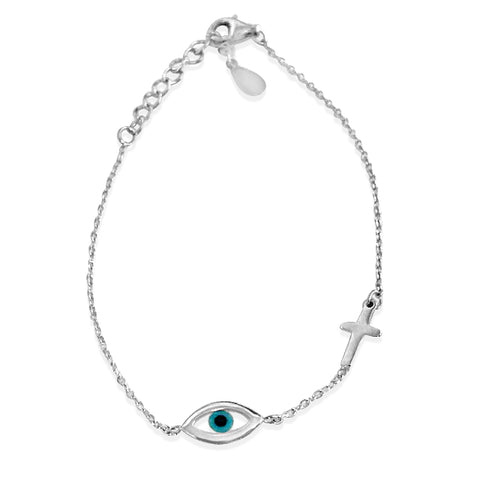 Eye Cross bracelet