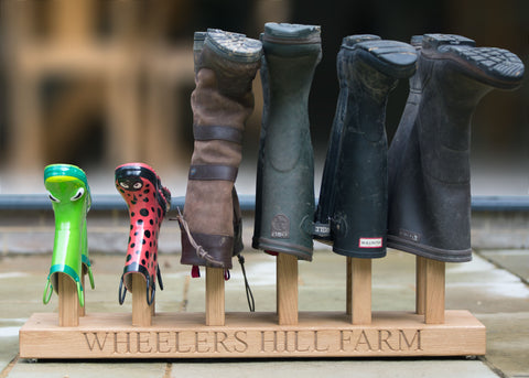 welly rack
