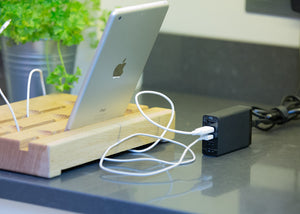 ipad and iphone dock charger