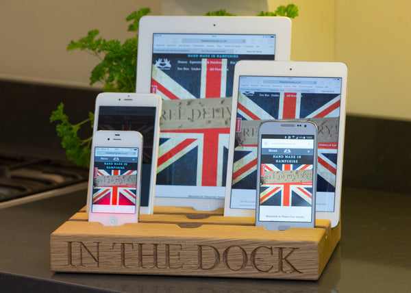 Family ipad & iphone dock