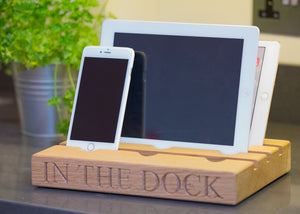 ipads and iphones in the dock 2