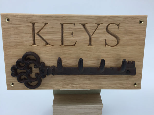 Personalised Key Rack