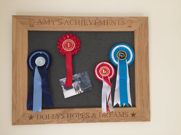personalised pin board