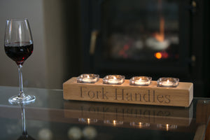 FORK HANDLES CANDLE HOLDER