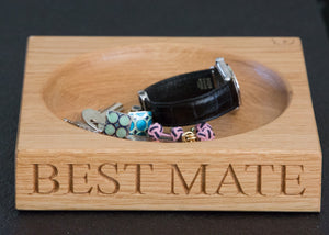 personalised mens gift bowl