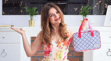 Why I Chose a Victoria Green Beauty Bag for My Holiday by UK Lifestyle Blogger, Iga Berry