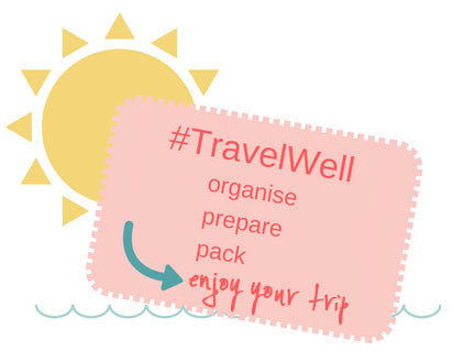 travel well holiday packing tips