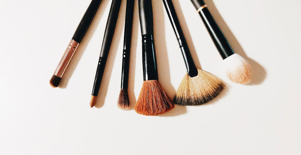 makeup brushes for beauty bags