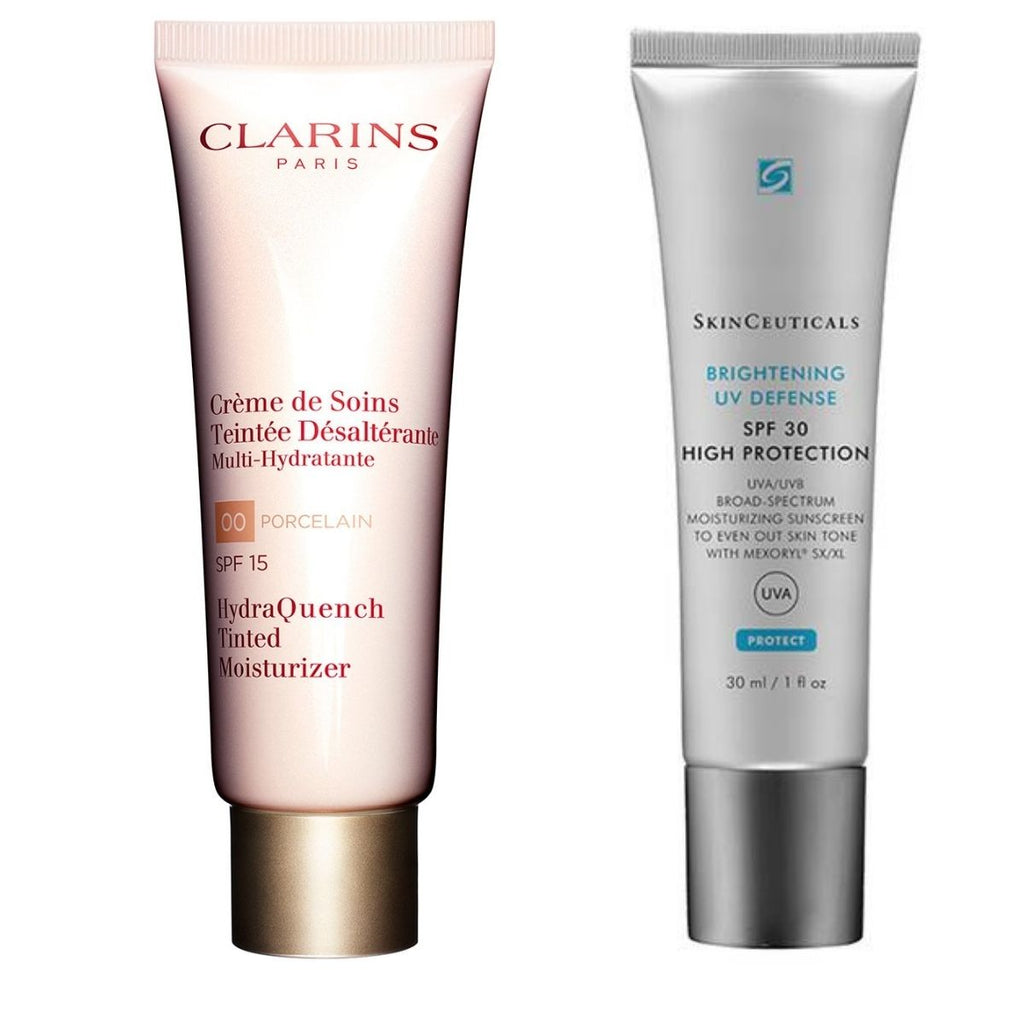 skin care products to pack in beauty bag on a desert island