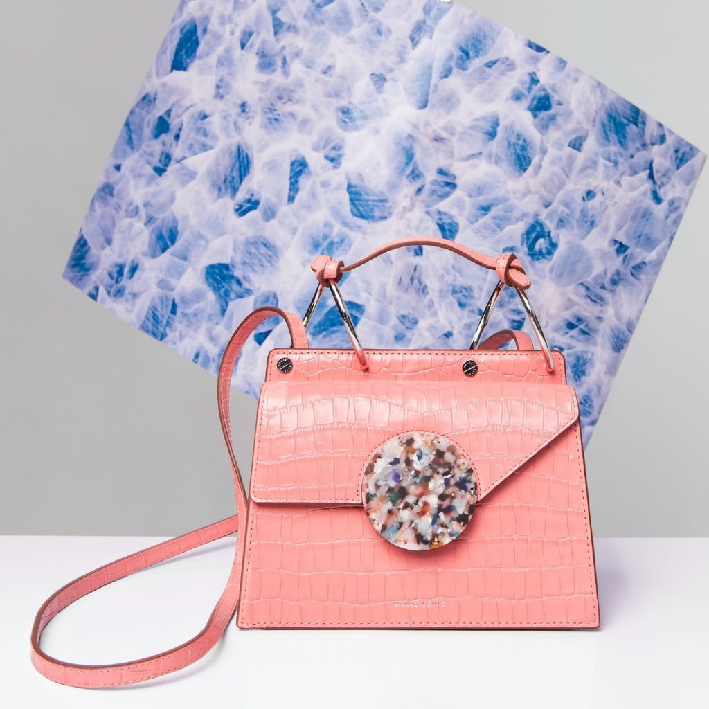 Pink handbag for how to get organised this month may
