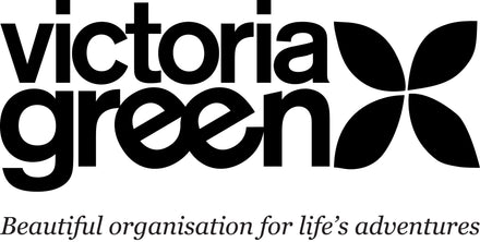 beauty bags by Victoria Green