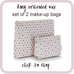 shop set of 2 make-up bags