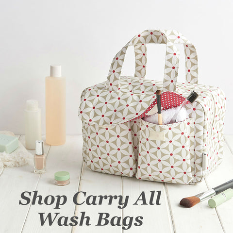 victoria green carry all wash bags