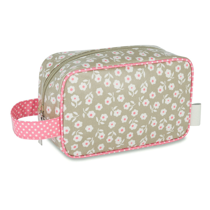 cosmetic bag with handle waterproof