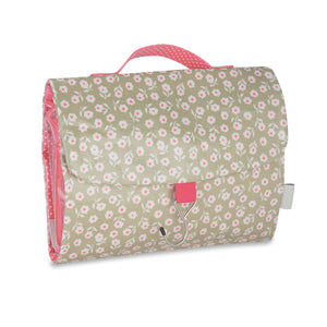threefold hanging wash bag with hook