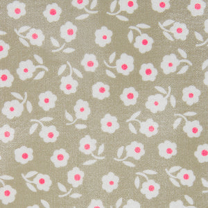 Daisy sage fabric detail close up waterproof